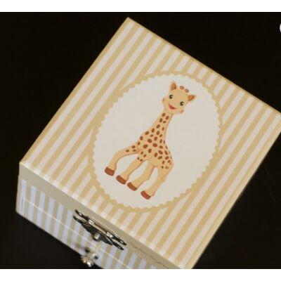 Zenélő ékszerdoboz, Sophie, a kis zsiráf (Musicbox, zenedoboz, 3-99 év)