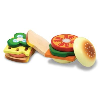 Sütés-főzés, szendvicskészítés (Melissa & Doug, konyhai játék, 2-6 év)