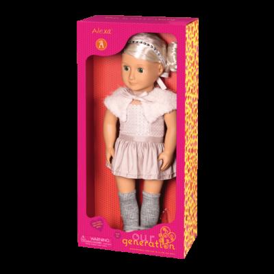 Our Generation, ALEXA baba (46 cm, gyerekjáték, 2-10 év)