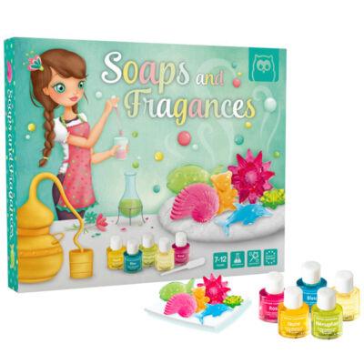 Szappan készítő készlet, Szappan és parfümkészítő (Eurekakids, kreatív játék, 7-12 év)