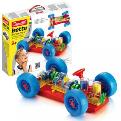 Isotta Felfedező autó, összeszerelhető (Quercetti, 8515, kreatív építőjáték, 3-7 év)