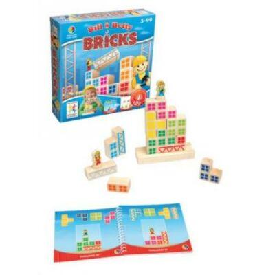 Bill & Betty Építkezés (Smart Games, logikai játék, 5-99 év)