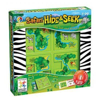 Dzsungelrejtő (Smart Games, Hide and Seek Safari, logikai játék, 7-99 év)