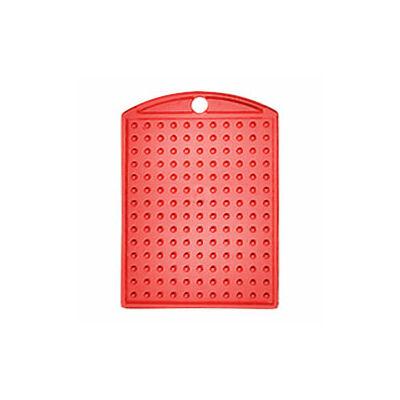 Pixelhobby Kulcstartó alaplap - átlátszó piros