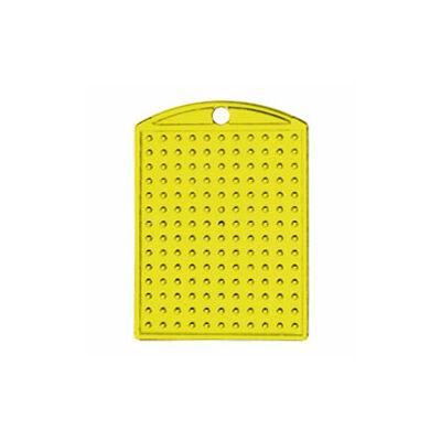 Pixelhobby Kulcstartó alaplap - sárga