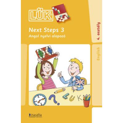 LÜK (24) - Next Steps 3. - Angol nyelvi alapozó 4. osztály