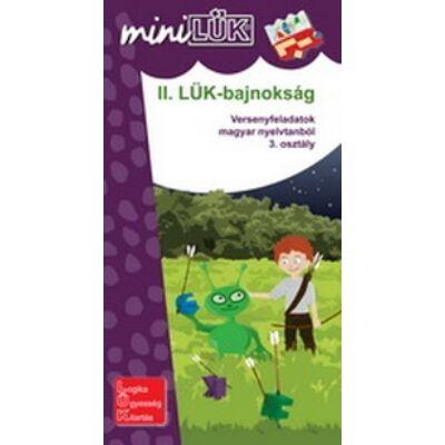 miniLÜK - II.LÜK-bajnokság - nyelvtan 3.o.