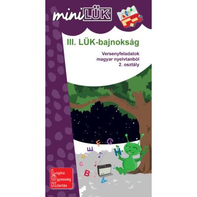 miniLÜK - III. LÜK-bajnokság - nyelvtan 2.o