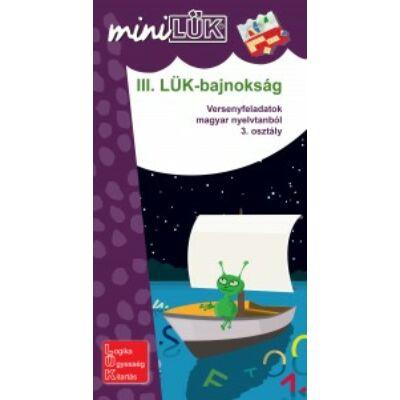 miniLÜK - III. LÜK-bajnokság - nyelvtan 3.o