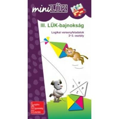 miniLÜK - III. LÜK-bajnokság - logikai versenyfeladatok 2-3.o.