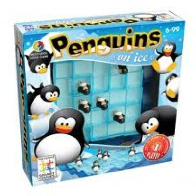 Pingvin csúszda (Smart Games, logikai játék, 6-99 év)