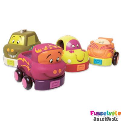 B.TOYS  Wheeee Cars - Puha autócsodák