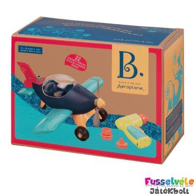 B.TOYS  Építs repülőt! - Fúrós-csavarozós játék