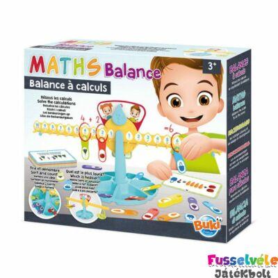 Matematikai mérleg (Buki tanulás segítő logikai játék, 5604, 3-7 év)