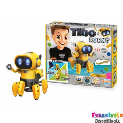 TIBO ROBOT - kódolós robotépítő (BUKI, Tudományos játék, 8-99 év)
