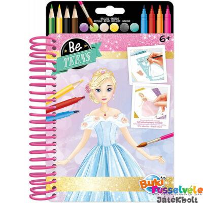 Divattervező füzet Hercegnős ruhák (Buki kreatív játék, 6-12 év)