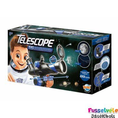 Teleszkóp 15 megfigyeléssel (BUKI, Tudományos játék, 8-99 év)