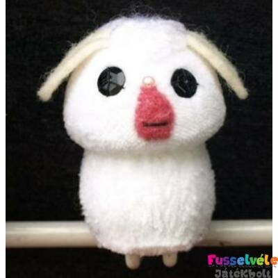 Zsűrizett ujjbáb - bárány