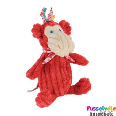 Plüssfigura, 15 cm-es, Bogos, a majom (Deglingos, 32112, gyerekjáték, 0-12 év)