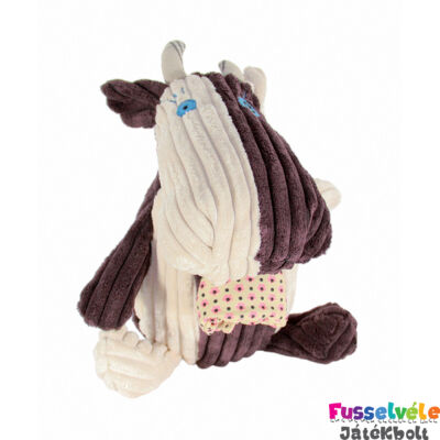 Plüssfigura, 23 cm-es, Milkos, a tehén (Deglingos, 33107, gyerekjáték, 0-12 év)