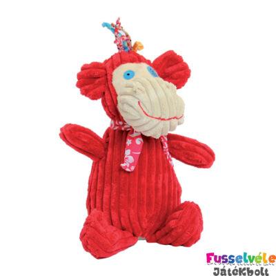 Plüssfigura, 23 cm-es, Bogos, a majom (Deglingos, 33112, gyerekjáték, 0-12 év)
