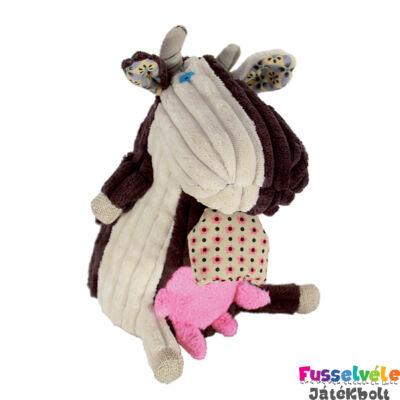 Zenélő plüss, Milkos, a tehén (Deglingos, 34107, bébijáték, 0-6 év)