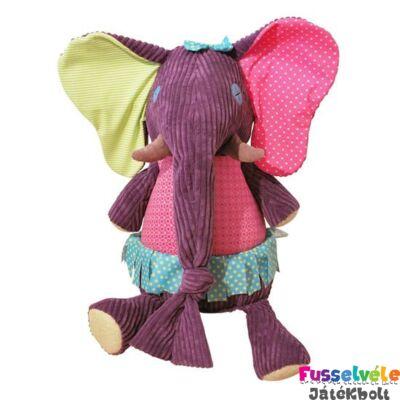 Plüssfigura, 60 cm-es, Sandy Kilos, az elefánt (Deglingos, 36916, bébijáték, 0-6 év)