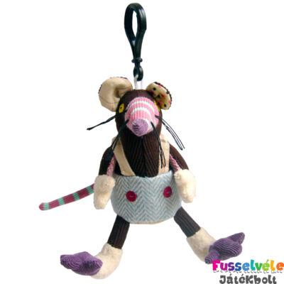 Plüss kulcstartó, Ratos, a patkány (Deglingos, 37004, kiegészítő, 5-12 év)