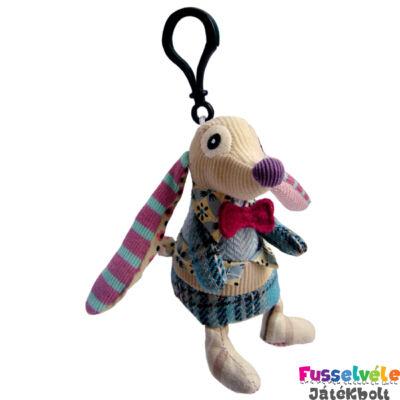 Plüss kulcstartó, Nonos, a kutya (Deglingos, 37005, kiegészítő, 5-12 év)