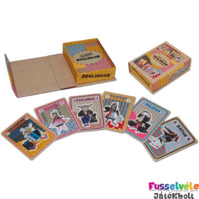 Játékkártya: Happy Family (Deglingos, 38000, bébijáték, 0-6 év)