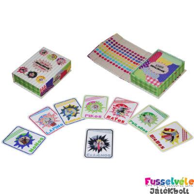 Játékkártya: Old Maid (Mistigri)  (Deglingos, 38001, bébijáték, 0-6 év)