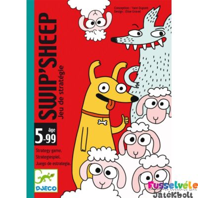 Swip Sheep - (Djeco, 5145, stratégiai kártyajáték, 5-8 év)