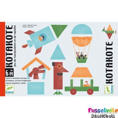 Kotakote (Djeco, 5148, stratégiai kártyajáték, 6-99 év)