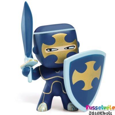 Arty Toys lovag, Dark Blue (Djeco, 6746, játékfigura, 3-10 év)