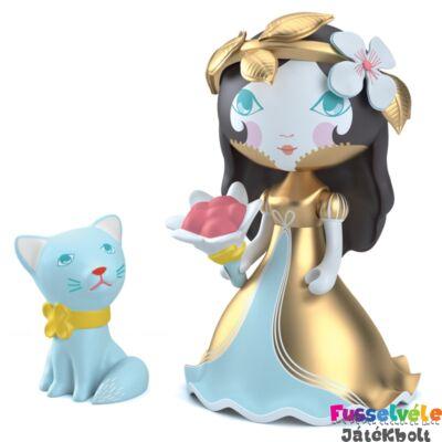 Arty Toys hercegnő, Eva-Zecat (Djeco, 6783, játékfigura, 3-10 év)