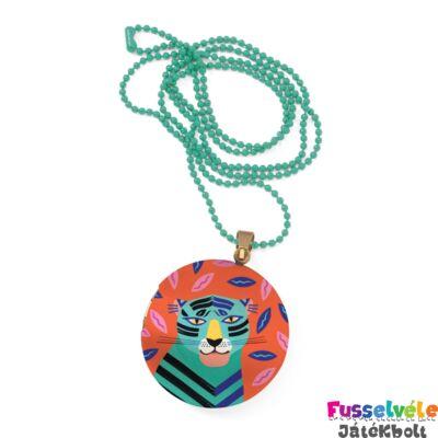Lovely Surprise Djeco nyaklánc medállal, Tigris