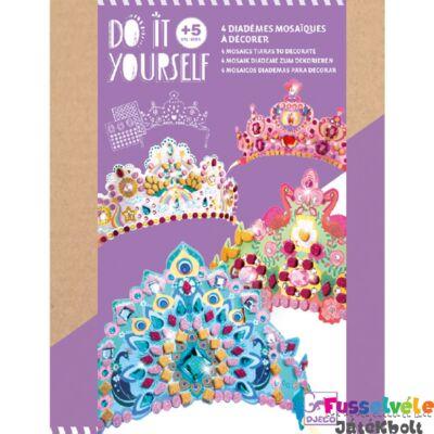 Csináld magad! Hercegnők fejdísze, Djeco kreatív készlet (Djeco, 4-10 év)