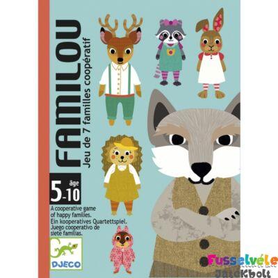 Familou (Djeco, 5103, kooperatív családgyűjtő kártyajáték, 5-10 év)
