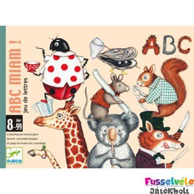 ABC Miam Betűfaló, (Djeco kártyajáték - 5147, 8-99 év)