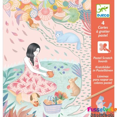 Karckép készítő Piknik (Djeco kreatív készlet - 9738, 6-11 év)