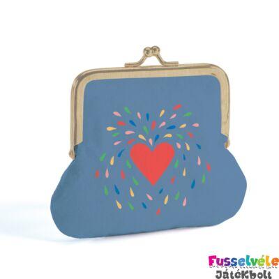 Lovely Purse (Djeco pénztárca, Heart - 3861