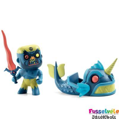 Arty Toys, Terrible & Monster Djeco Szörnyhajós kalóz figura