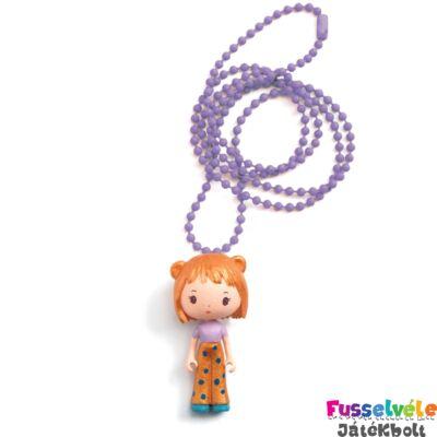 Tinyly nyaklánc, Anouk medállal (Djeco, 6990, gyerek nyaklánc, 3-6 év)