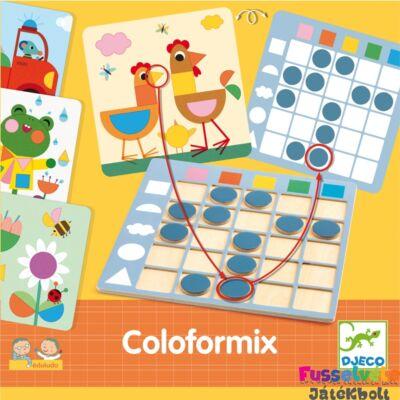 Coloformix, Djeco forma- és színfelismerést fejlesztő logikai játék (3-7 év)
