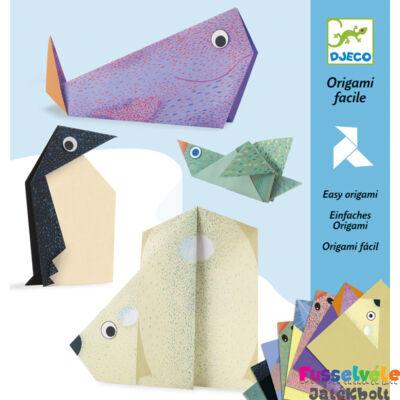 Origami, Sarkvidéken (Djeco, 8777, kreatív játék, 5-10 év)