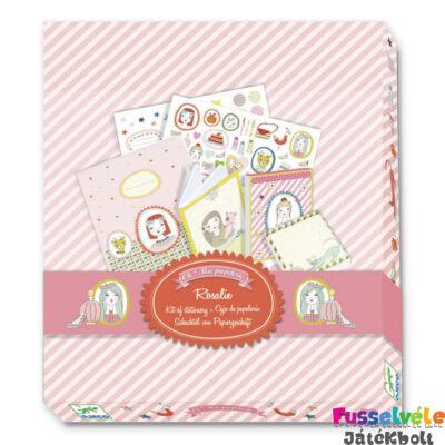 Írószer csomag, Rosalie (Djeco, 9830, papír-írószer)