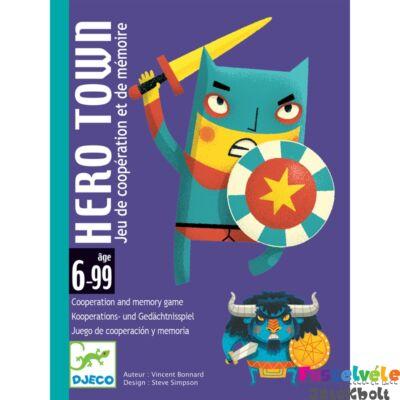 Hős város (Djeco kooperációs és memóriafejlesztő kártyajáték - 5143, 6-10 év)