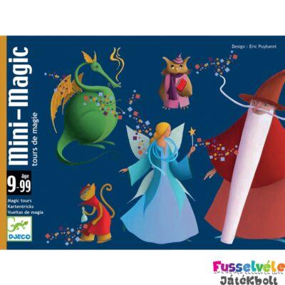 Máguskártya Mini mágus (Djeco bűvészkártya - 5178, 9-99 év)