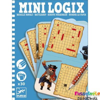 Mini Logix , Torpedó (Djeco, 5355, úti játék, 6-12 év)