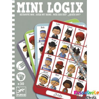 Mini Logix , Ki kicsoda? (Djeco, 5356, úti játék, 6-12 év)